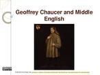 Edad Media y Chaucer