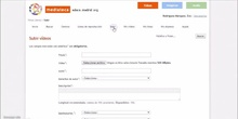 Tutorial subir videos a Mediateca