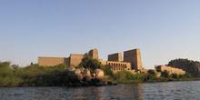 Templo de Philae desde el lago