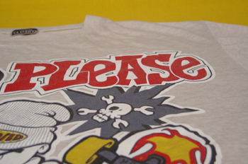Camiseta de algodón con un dibujo impreso