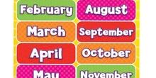 PRIMARIA - 4º - DAYS & MONTHS - INGLÉS - FORMACIÓN