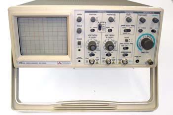 Osciloscopio analógico
