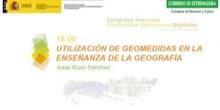 Utilización de Geomedias en la enseñanza de la Geografía.