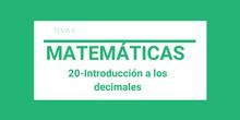 Los decimales