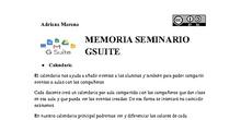 Seminario G-Suite