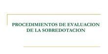 PROCESO DE EVALUACIÓN PARA DETECTAR LAS ALTAS CAPACIDADES INTELECTUALES