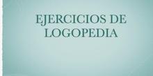 EJERCICIOS DE LOGOPEDIA - FORMACIÓN