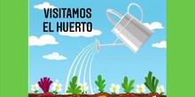 LOS CANGREJOS VISITAN EL HUERTO (febrero)