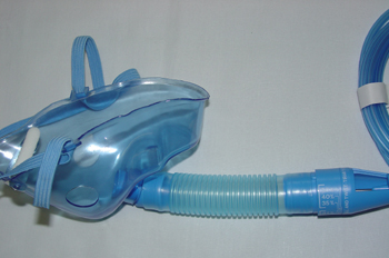 Mascarilla de oxígeno graduable