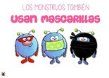 Uso de mascarillas en monstruos