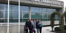 VISITA CENTRO DE TRANSFUSIÓN DE SANGRE