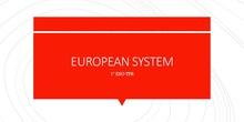 European Systen