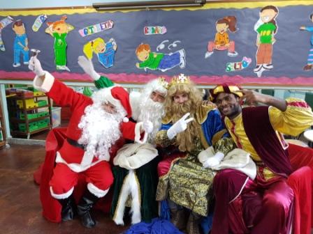 Los RRMM  Papá Noel en 1º (1) 18