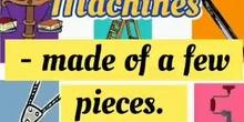 Segundo de primaria (Second grade) Natural Science Unit 9 Machines.