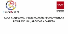 Recursos URL, archivo y carpeta