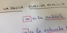 Ecuación explícita. 3º ESO