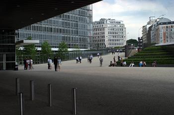 Edificios de la Unión Europea, Bruselas, Bélgica