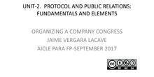 Organizing a Company Congress