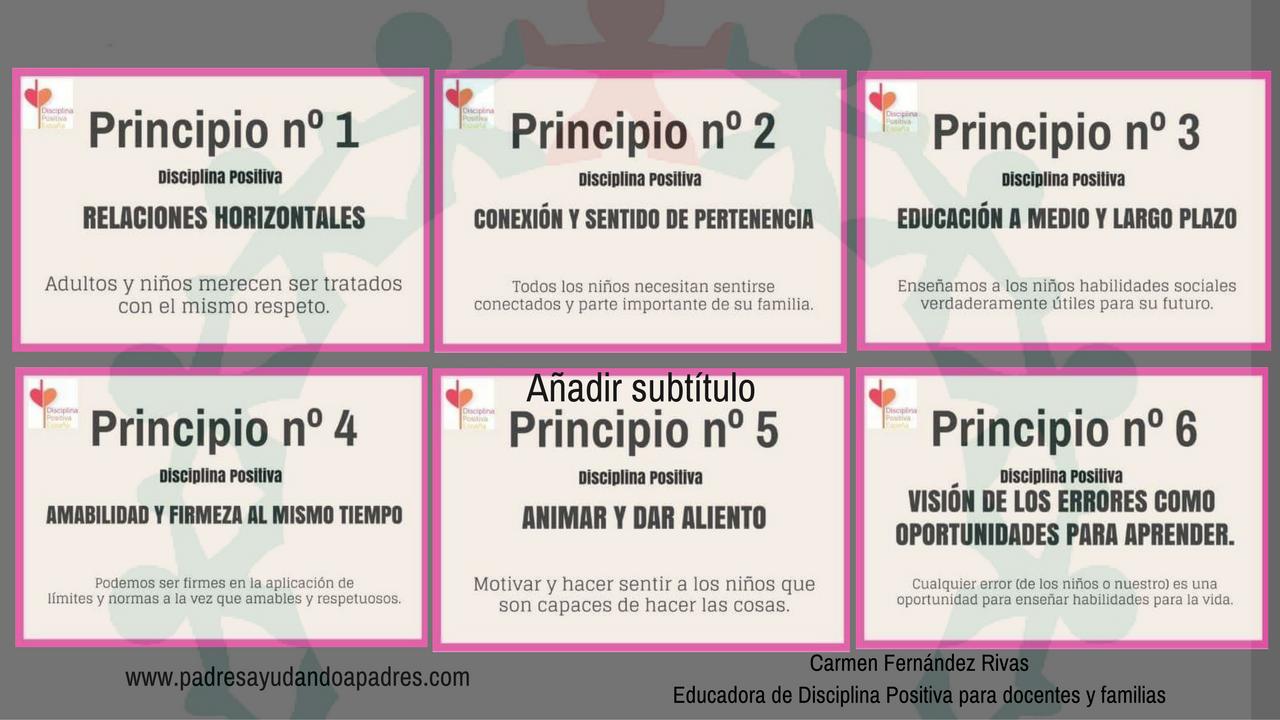 Formación Disciplina Positiva 1