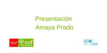 Presentación Amaya Prado