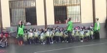 Desfile carnavalero alumnos 3 años