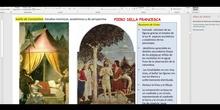 PINTURA ITALIANA DEL RENACIMIENTO. QUATTROCENTO (Segunda parte)