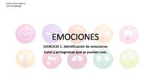 Identificación emociones faciales: material.