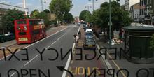 Calle de Hackney desde autobús