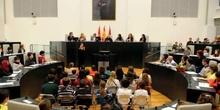 El Colegio Amadeo Vives en el IV Pleno Infantil del Ayuntamiento de Madrid