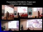 Presentación de la jornada a los socios de acogida y otras partes interesadas