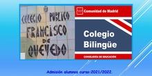 Colegio CEBIP Francisco de Quevedo