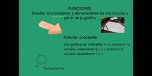 SECUNDARIA - 4º ESO - FUNCIONES CRECIMIENTO - MATEMÁTICAS - FORMACIÓN