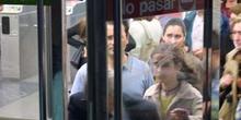 Entrada a una estación de metro, Madrid