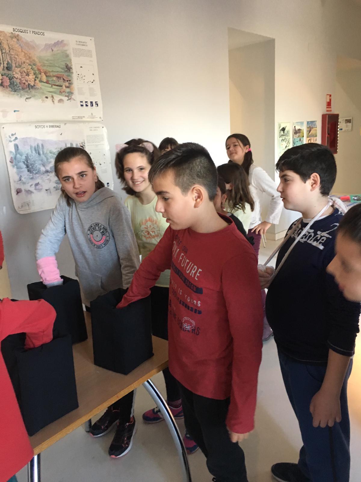Centro de Interpretación de la Naturaleza. Montecarmelo. 6º curso. 21