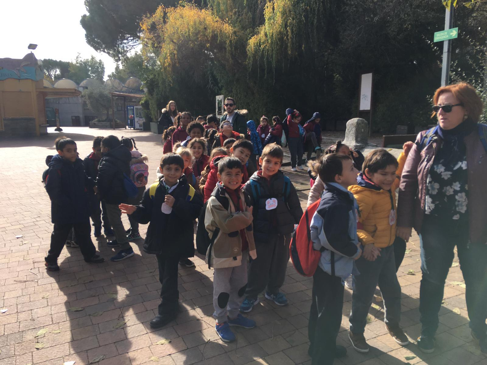 Excursión al zoo 5 años, 1º y 2º Luis Bello 10