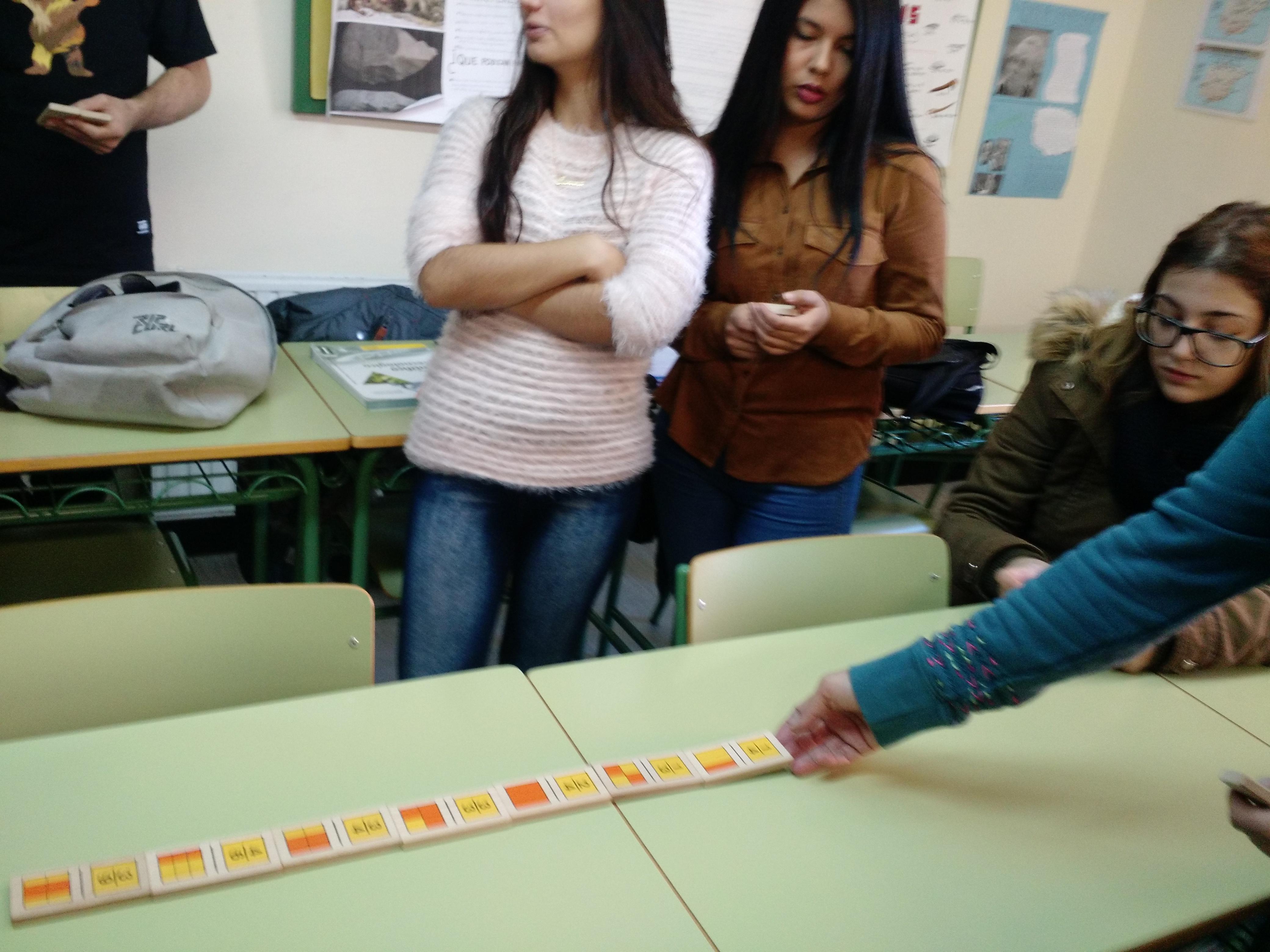 Jugando al dominó (fracciones) 2