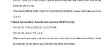 TAREAS RECOMENDADAS 1º PRIMARIA