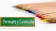 Licencias y permisos.
