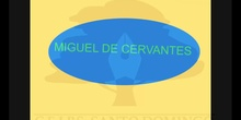 PRIMARIA 5º. MIGUEL DE CERVANTES - SOCIAL SCIENCE.