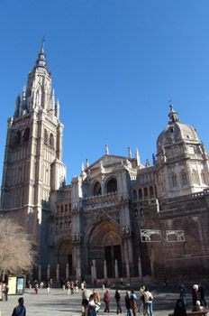 Fachada de la Catedral de Toledo, Castilla-La Mancha