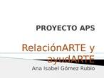 #ApSCRIFRelacionARTE y ayudARTE