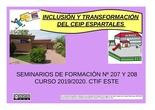 INCLUSIÓN Y TRANSFORMACIÓN DEL CEIP ESPARTALES