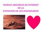 Teorías de desaparición de los dinosaurios