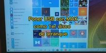 ARRANCAR MAX 10 DESDE USB autoarrancable