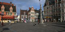 Otra visión de la Veerleplein, Gante, Bélgica