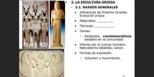 3. Escultura griega