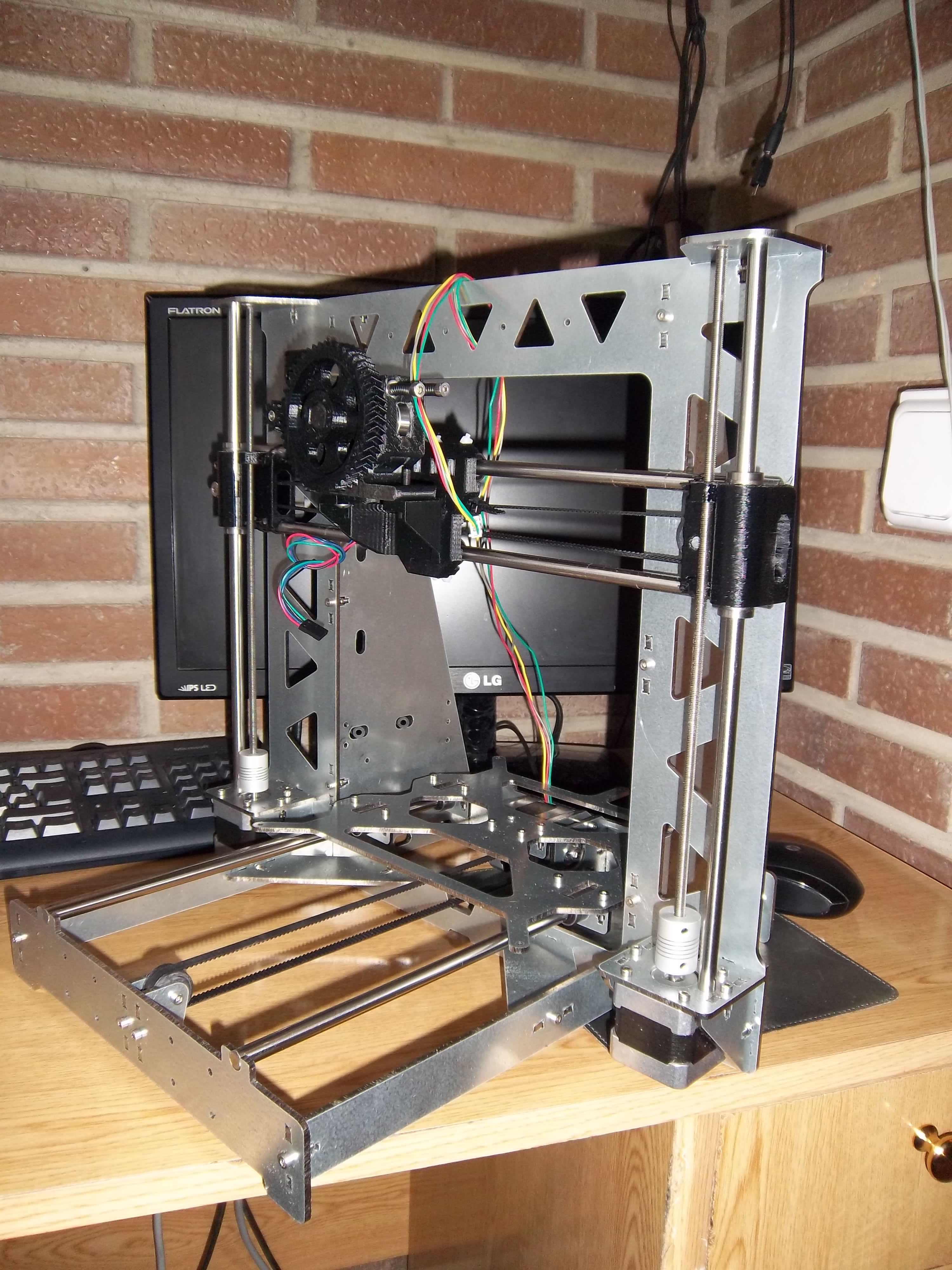 Chasis de impresora 3D modelo Prusa i3 Steel