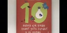 10 cosas que puedo hacer para ayudar a mi mundo