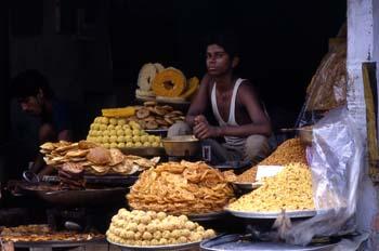 Vendedor de dulces, Pushkar, India