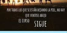 EL CURSO SIGUE